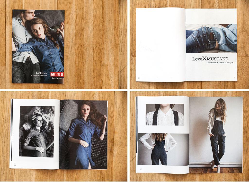 Anna Wasilewski Lookbook Mustang Bildbearbeitung