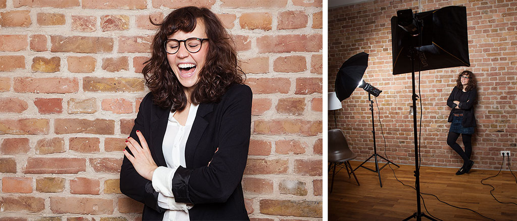 Anna Wasilewski Fotografie Berlin Lea Vogel Coach Shooting Lachen